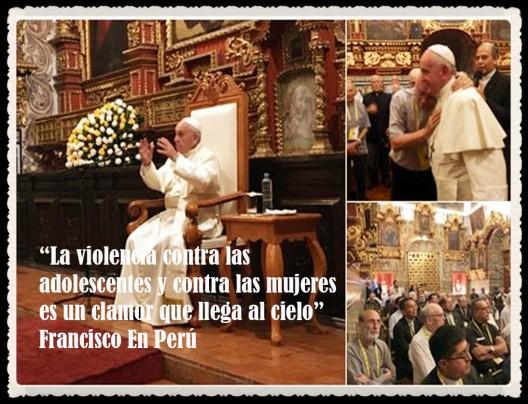 PAPA FRANCISCO CITAS Y FRASES EN EL PERÚ -PAPA JESUITA -COMPAÑÍA DE JESÚS - UNIDOS POR LA FE Y LA ESPERANZA (23)