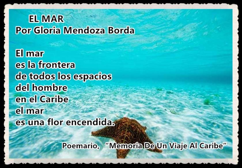 3 EL MAR por Gloria Mendoza Borda