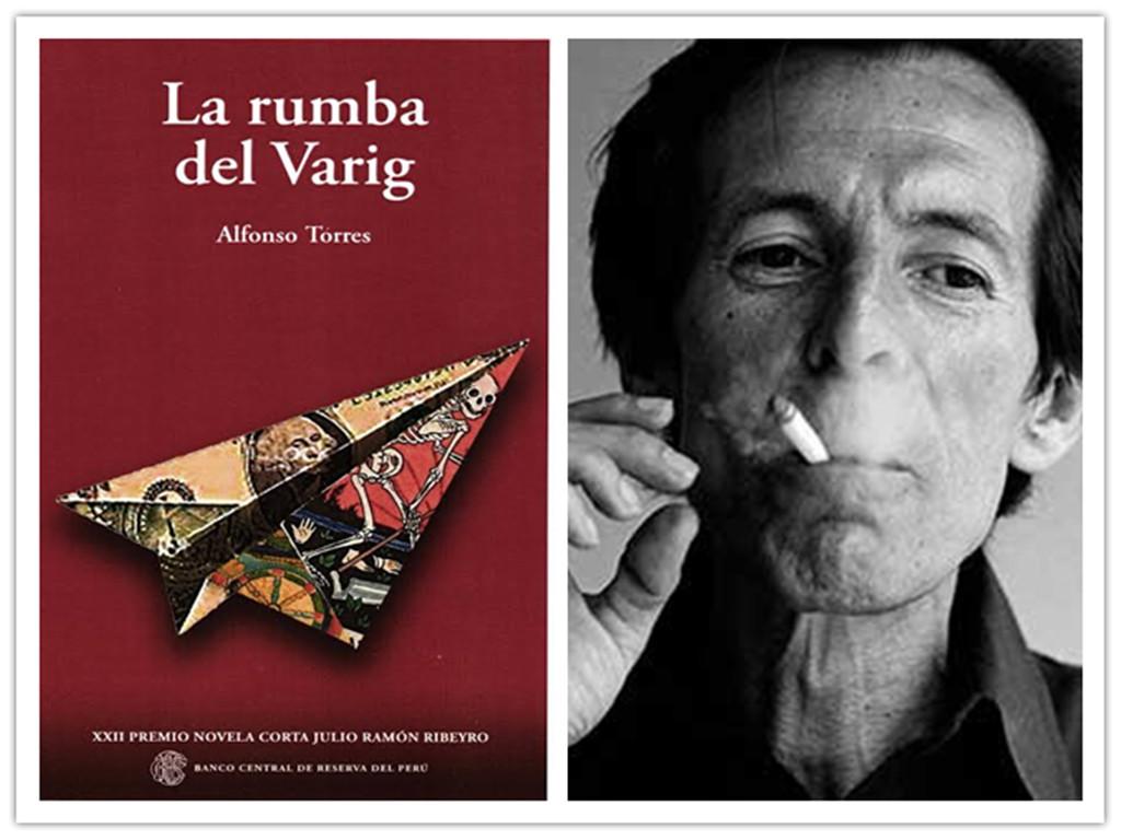 """""""La rumba del Varig"""" (premio Julio Ramón Ribeyro, Banco Central de Reserva)."""